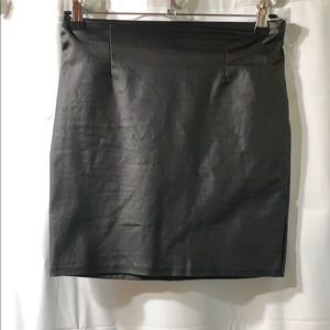 Windsor pleather skirt